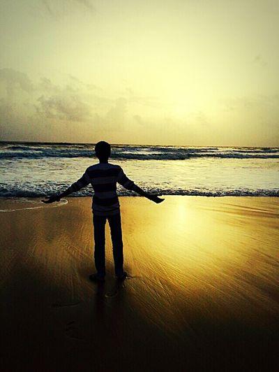 Edge Of The World That's Me Mylife Goa Enjoying Life