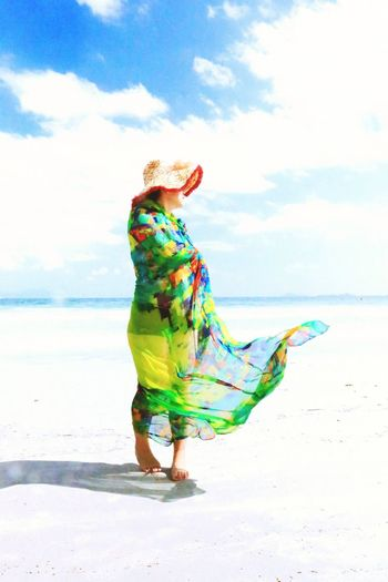 Sea Nature Perspectives Seaside Vietnam Perspective Colors Color Portrait The Human Condition People Beauty Vivid Leisure Time Meandering