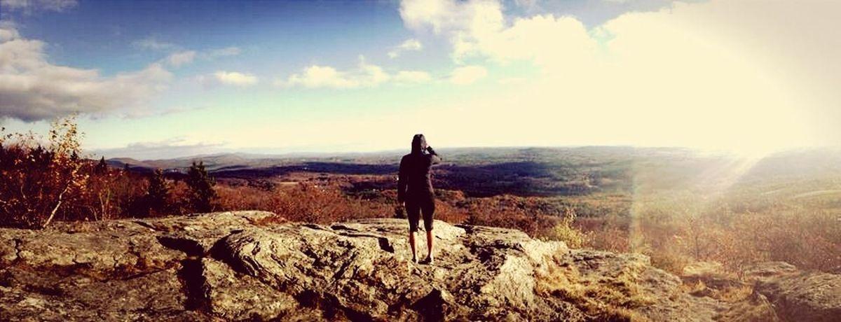 Hiking Nature Summit Panorama