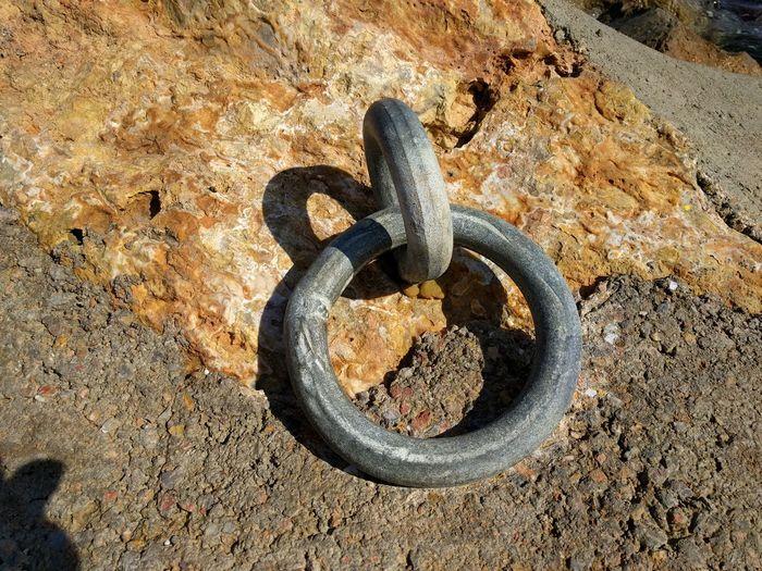 Amarre  Roca Hierro Oxido  Circulo