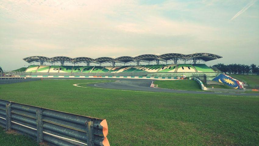 Sunny day, at Sepang today at Malaysian Championship Series Stadium Outdoors Sport Day No People Nature Sky