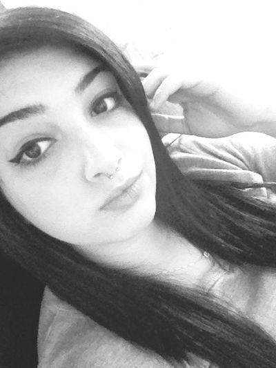 Girl New Hello World Black And White