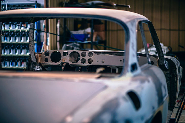 Car At Garage