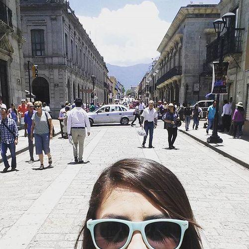 Calles de Oaxaca. Qué calor!!!! Oaxaca