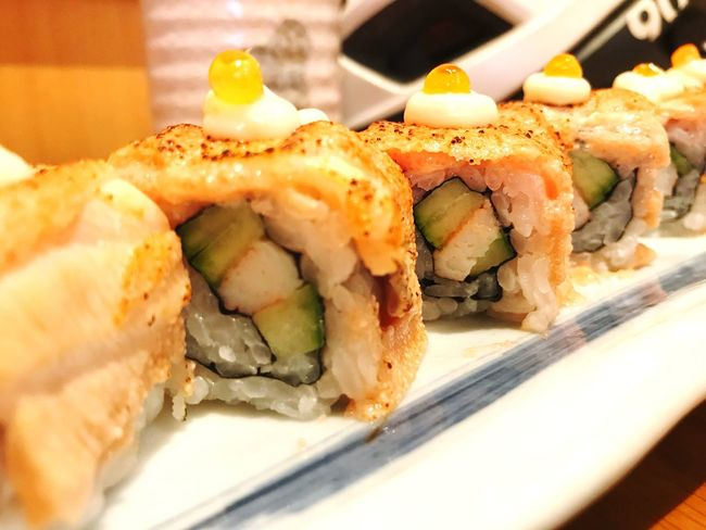 Sushi Food And Drink Food Sushi Freshness Seafood Healthy Eating Ready-to-eat Japanese Food Gourmet SLICE