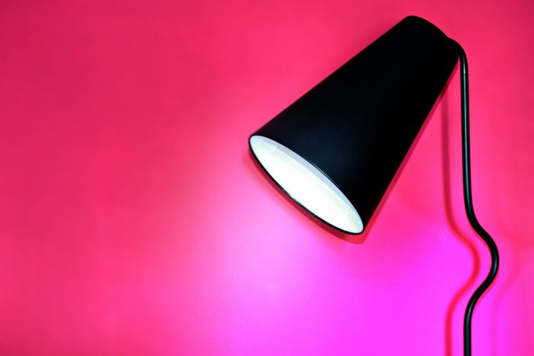 Home Lamp Light Minimalist Pink Accessories Black Color Black Lamp Floor Lamp Furnishing Furniture Home Decor Home Interior Home Showcase Interior Indoor Indoors  Lamp Minimal Minimalism Minimalistic No People Pink Color Studio Shot The Week On EyeEm AI Now