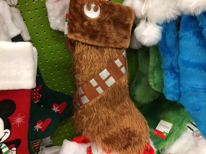 A Chewie Christmas stocking :)