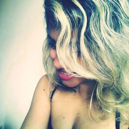Brazilian Woman Blond Hair Beautywoman Happyday Photography
