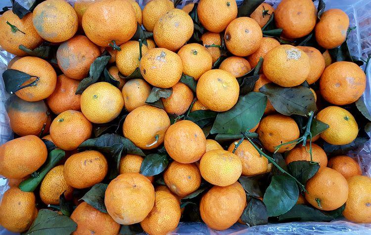 Mini Tangerines Tangerine Symbolism Wealth Chinese New Year Mini Day Abundance Large Group Of Objects Full Frame Food And Drink Fruit Outdoors No People Backgrounds Freshness Healthy Eating Close-up Nature Food Citrus Fruit Market Orange - Fruit