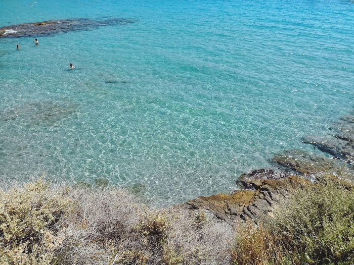 Paradise EyeEmNewHere EyeEm Nature Lover EyeEm Best Shots Hello World EyeEmBestPics Mediterranean  Mediterranean Sea Mallorca EyeEm Gallery Water Sea Beach Sand High Angle View Blue Idyllic Clear Peaceful Scene Horizon Over Water Calm Turquoise Sandy Beach