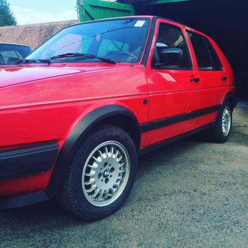 Golf2 Red MyCar