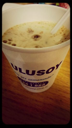 Cappuccino Break Ulusoy Eurolines Touringgermany #life #enjoy ?☕