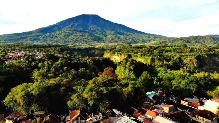 Merapi Mount at