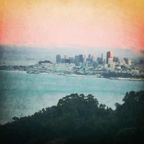 Sunsets over San Francisco - View from Sausalito