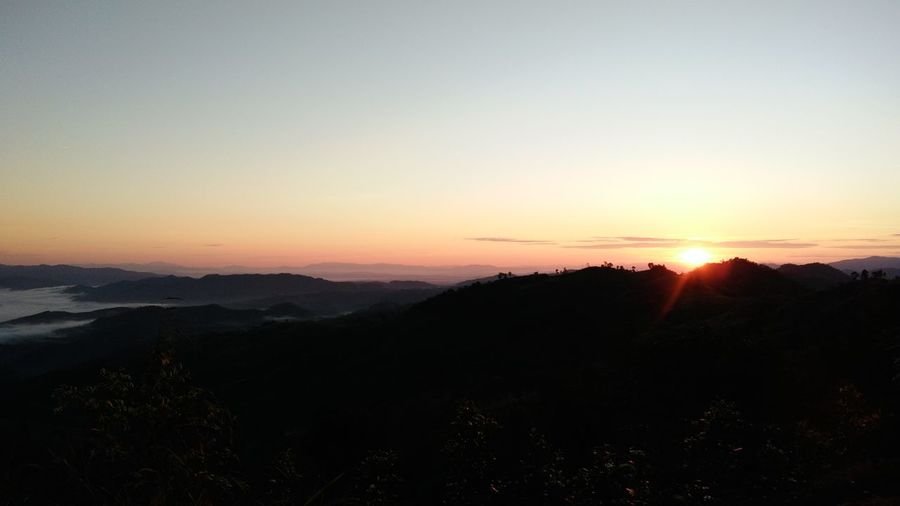 Sunrise Beauty In Nature Landscape Mountain Day Nature Thailand🇹🇭 Mae Salong Chiang Rai, Thailand Outdoors Trail Running MST2017