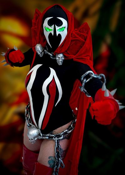 Katsucon 2019 Cosplayer Cosplay Katsucon 2019 Katsucon Focus On Foreground Red Celebration Day No People Representation Close-up Creativity Costume Mask - Disguise Spooky