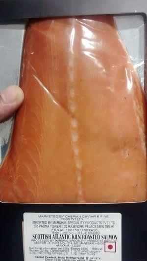Salmon Colored Salmone Salmonsushi Atlantic Salmon