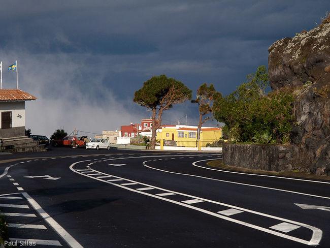 Empty road. Cloud - Sky Empty Road Road Marking Street Tenerife Transportation Travel Tree