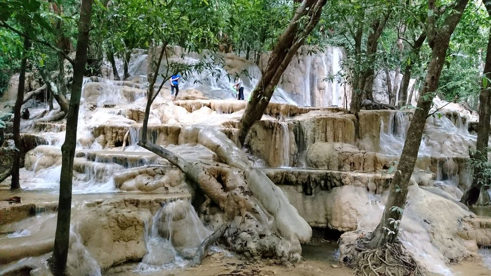 Cascading waterfall satun Thailand Waterfall Satun Satun Thailand Satun Province Tourism Destination Water Waterfall_collection Waterfall Thailand Nature Tree Outdoors Beauty In Nature