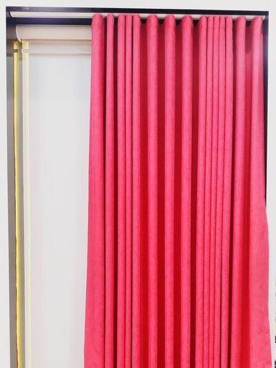 Abre las Cortinas Home Showcase Interior Coathanger Multi Colored Curtain Backgrounds Hanging Red Choice Textile Domestic Room Drapes  Boutique Dressing Room Clothing Store Backstage Coat Hook Department Store Shoe Store Mannequin Window Shopping Menswear Clothes Rack Trying On Bridal Shop Fabric Fitting Room Closet Cotton Canvas