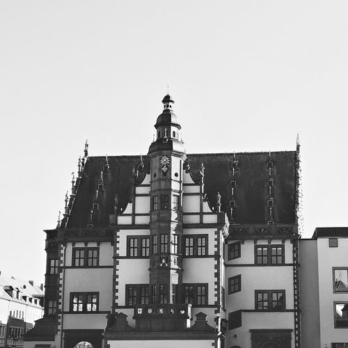 Town Hall City Hall Schweinfurt Bavaria Franconia Snapseed Architecture Architecture_bw