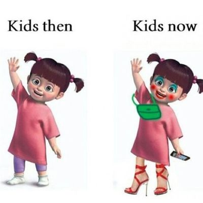 Hahahaha! :) I guess u can say that's true... Disneyland Disneyland_cali Boo Monstersinc disneymovie kids Like for BOO!! ;)