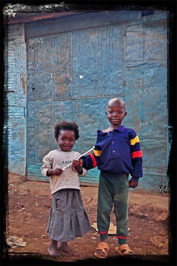 Africa Hello World Kibera Nikon Child