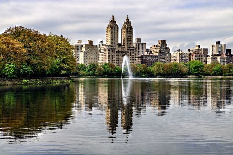 Central Park Central Park - NYC New York Water Reflection Architecture Nature Travel Destinations Waterfront Travel No People Outdoors