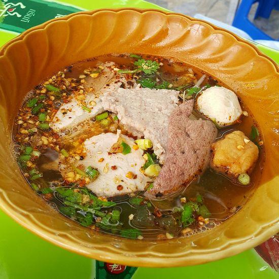 stewed pork nooddle soup Thailand Food Bangkok Thailand Spicy Food Tomyamsoup  Thaistyle Pork Soup Pork Ball Spicy Thai Food Thailand Street Foods Close-up Food And Drink