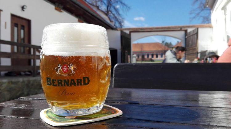 Straight out of a beer commercial Drink Beer - Alcohol Beer Glass Refreshment Drinking Glass Focus On Foreground Table Freshness Bernard Czech Republic Czech Beer Hiking Village EyeEm Best Shots EyeEm Selects Be. Ready.