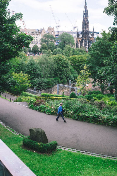 Passing by Edinburgh Fuji X100s FUJIFILM X100S Garden Scott Monument Stranger Strangers Strangers In Transit Streetphotography X100S
