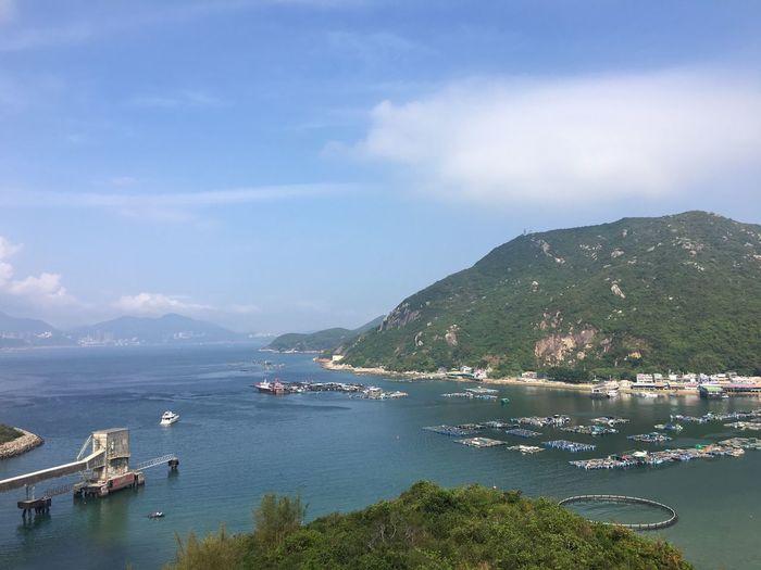 Hello World Outdoors Sea