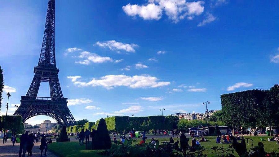 Eiffel Tower ChampsDeMars Eyemphotography