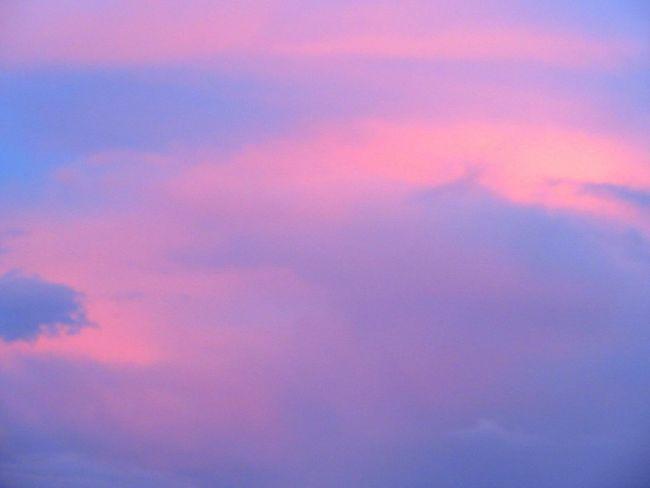 Beautiful pink- blue sky Pink Blue Sky Sky Cloud - Sky Dramatic Sky No People Nature Dramatic Sky Labuan,Malaysia Borneo