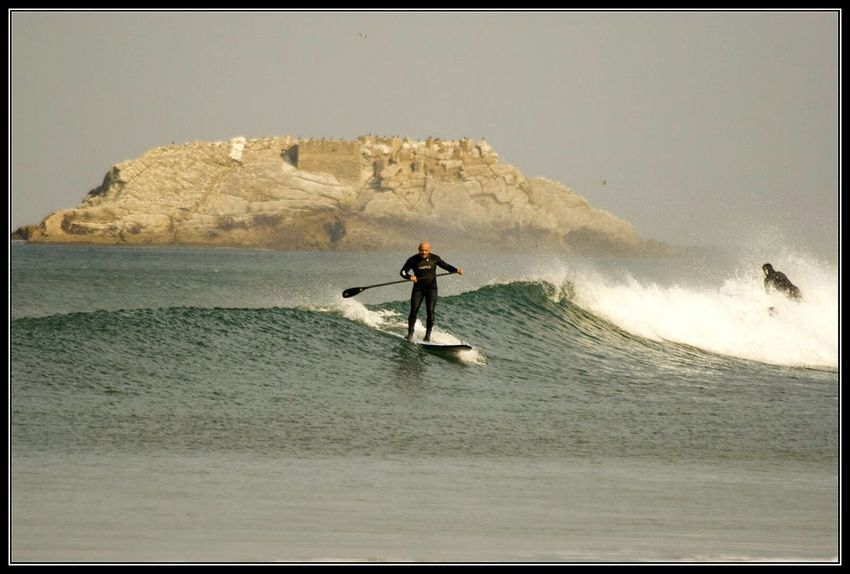 Surf Surfing Sea View Oceanside Ocean Waves Playa De Zarautz