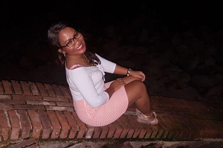 #daughter Of The King #smiling #nightshot #night View EyeEm Selects Smiling Portrait Eyeglasses  Looking At Camera Blond Hair Sitting Posing