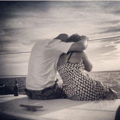 Blackandwhite Sailing Love Couple Solitude Wife Grenada