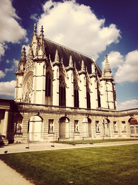 Château de Vincennes ... Par le soleil