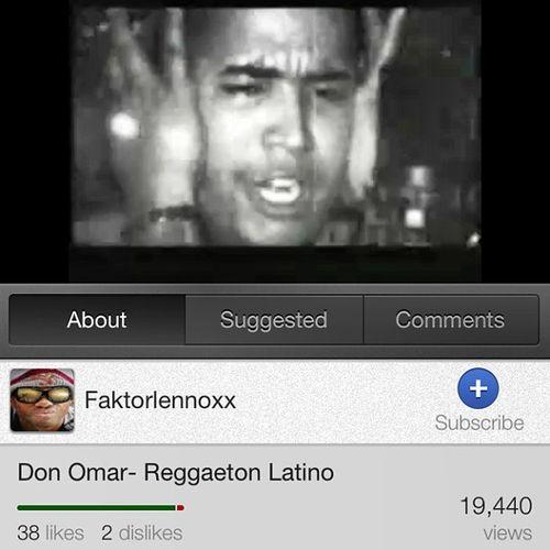 Classic DonOmar Latino Reggaeton