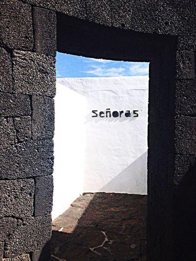 Architecture Toilette Art Montañasdelfuego ÎlesCanaries Señoras España
