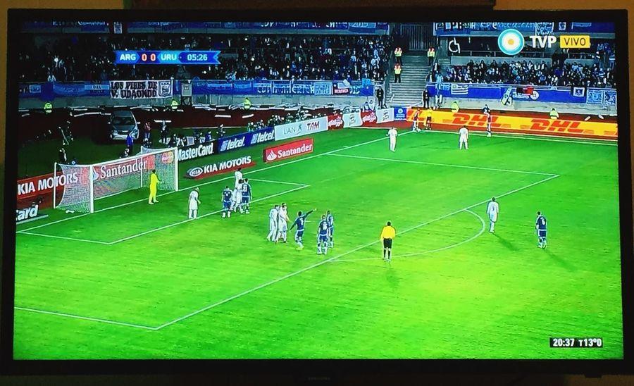 VAMOS ARGENTINA! Argentina vs Uruguay Copa America Match Family Time Football Game
