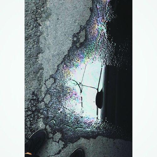 Oil Spill Water