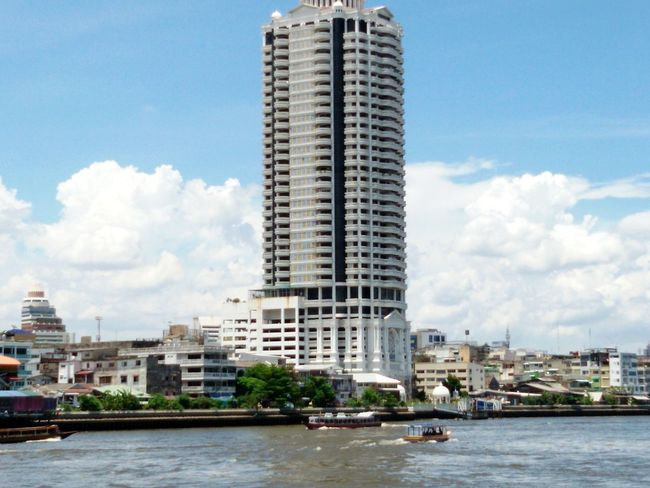 Bildings Photo Of The Day Chao Phaya River Buildings & Sky .