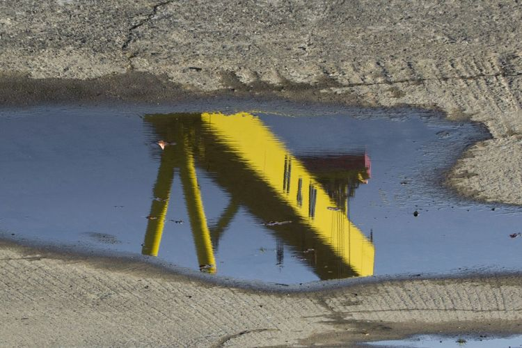 Reflection Crane Harland&Wolff Seeing The Sights
