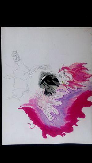 Black Goku Dragon Ball Dragon Ball Z Dragon Ball Super Super Draw Dibujo Prismacolor Premier Dibujos Tranquility Art And Craft Drawing Process Goku DrawSomething Practicing Arte Creativity Ideas Dibujo A Lapiz Lifestyles Ink Drawing Time Drawing - Art Product Concentric