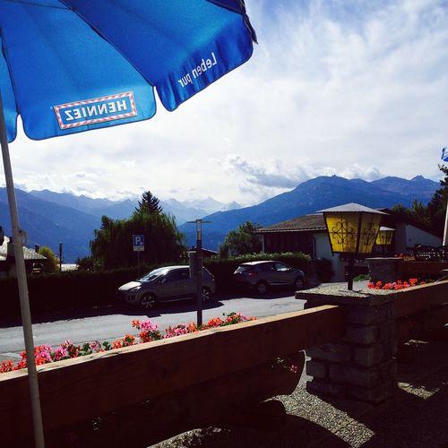 Cransmontana Switzerland Mountains Bluche Memories