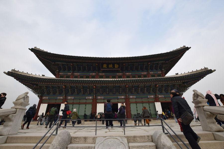 Architecture Building Building Exterior Built Structure Capital Cities  City Cultures EyeEm Best Shots Famous Place Historical Historical Building History Seoul South Korea Travel Destinations