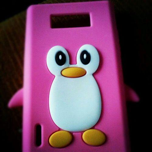 Ola Sr Pinguim Newcase  Pinguim Pink ILovePinguim s2