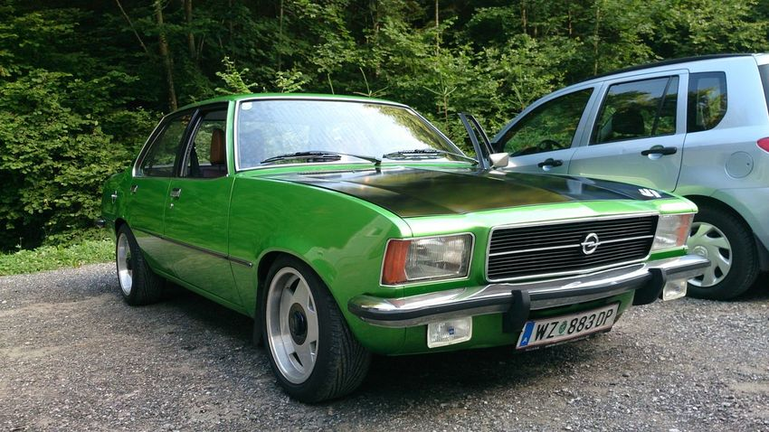 Opel Rekord Opelrekord Old-fashioned No People Collector's Car Car Oldschool
