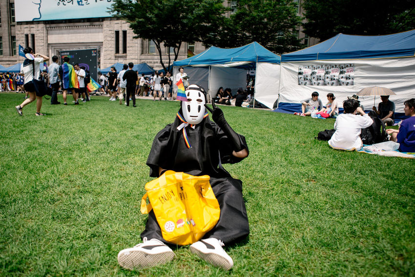 Seoul, South Korea - Jul 14, 2018: Seoul Plaza hosts one of the most colorful and inclusive LGBT Pride event in Asia, Seoul Queer Pride earlier this month. Despite being seen as a conservative society, more than 30,000 Korean and people from around the world participated in Seoul Queer Pride, as a part of 19th Seoul Queer Culture Festival. Summer heat couldn't stop the celebration of love, diversity and equality. Seoul Queer Festival Seoul Queer Pride Seoul Pride Seoul Lgbt Pride Korean Lgbt Lgbt Pride Pride2018 Gay Pride Lgbt Lgbtq Pride Parade LGBT Rainbows Rainbow Flag Loveislove Seoul Queer Culture Festival Love Wins Noface